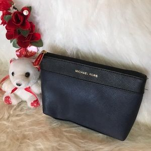 Authentic Michael Kors Cosmetics pouch
